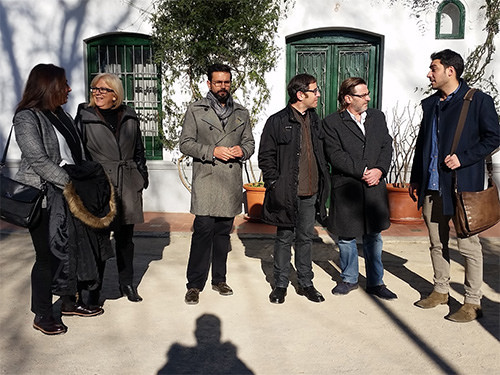 El PSOE exige de nuevo una intervención urgente en la Huerta de San Vicente