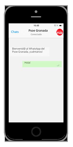 Actúa whatsapp-psoe-granada