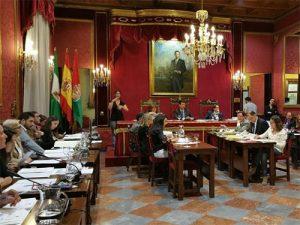 El PSOE de la ciudad de Granada critica que PP y C's no hayan apoyado la Moción socialista que pedía financiación para los Ayuntamientos contra la Violencia de Género. 31862517441_b70239216d-300x225