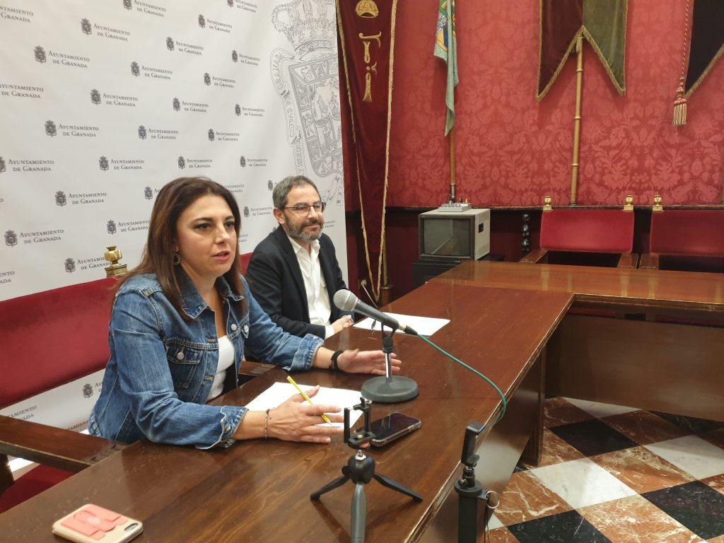 EL PSOE ASEVERA QUE LA PARÁLISIS DEL AYUNTAMIENTO SE TRADUCE EN CERO INICIATIVAS DE PP Y CS AL PLENO Ruz-y-Madrid-hoy-en-rueda-de-prensa-1024x768