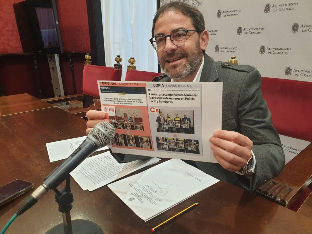 El PSOE DENUNCIA QUE LA PARÁLISIS MUNICIPAL SE EXTIENDE TAMBIÉN A LAS OBRAS MUNICIPALES fernandez-madrid-en-rueda-de-prensa-hoy-1024x768