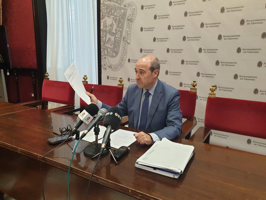 EL PSOE EXIGE AL ALCALDE UNA PROPUESTA SERIA PARA SEGUIR HABLANDO DE PRESUPUESTOS Corpasen-Rueda-de-Prensa-1024x768