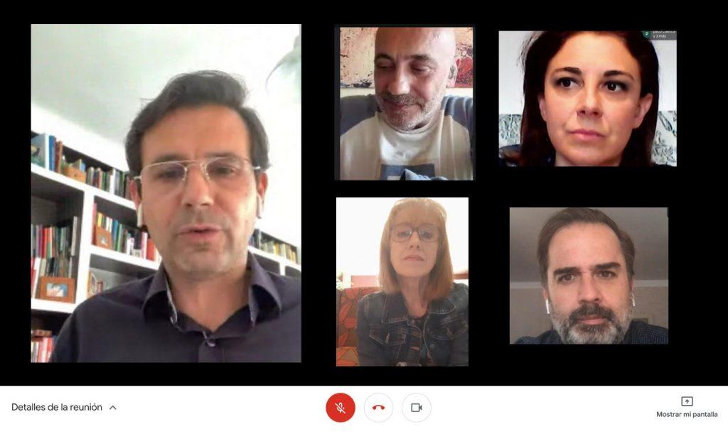 EL PSOE COMPARTE SUS PROPUESTAS DE RECONSTRUCCIÓN A LOS SECTORES MÁS AFECTADOS POR LA CRISIS DEL COVID reunion-FEDERACION-DE-COMERCIO-1024x611