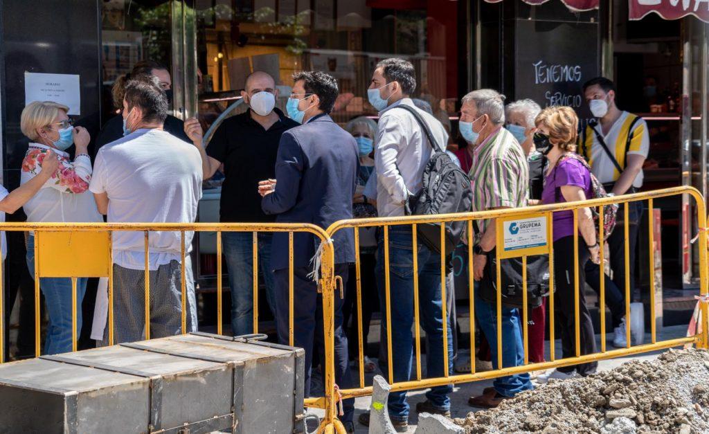 EL PSOE CRITICA QUE LA OBRA DE LA CALLE PALENCIA SE ESTÉ EJECUTANDO DE ESPALDAS A COMERCIANTES, HOSTELEROS Y VECINOS VISITA-PALENCIA-1024x627