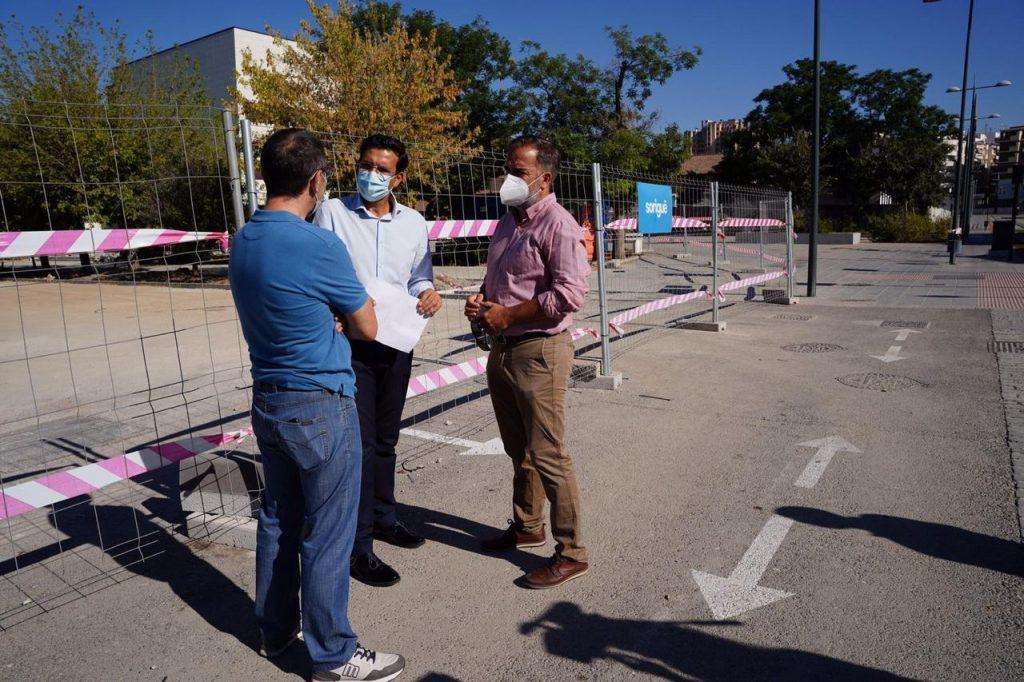 EL PSOE DENUNCIA QUE LA JUNTA REALICE LAS OBRAS EN LOS PASEÍLLOS UNIVERSITARIOS SIN LICENCIA PSOE_OBRAS_PASEILLOS-1024x682