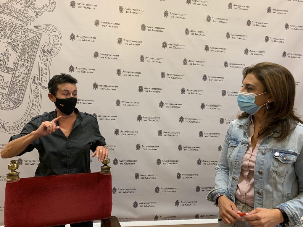 EL PSOE ACUSA AL BIPARTITO DE ABANDONAR A LOS QUIOSQUEROS DE GRANADA Y NO CUMPLIR LOS COMPROMISOS PARA REVITALIZAR EL SECTOR Ruz-y-Remedios-Garrido-hoy-en-rueda-de-prensa-1024x768