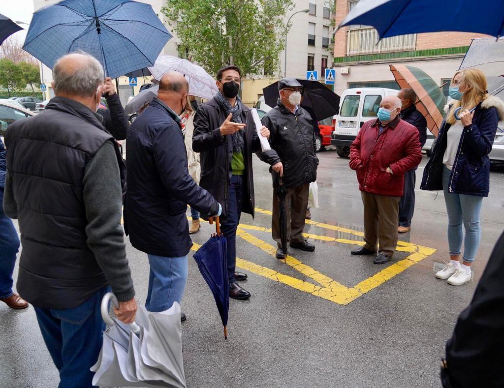 EL PSOE EXIGE LA MEJORA DEL ACERADO DE ALGUNAS CALLES DE LA CHANA PARA PERMITIR LA ACCESIBILIDAD DE LOS VECINOS CUENCA-HOY-EN-LA-CALLE-PARGO-1024x789