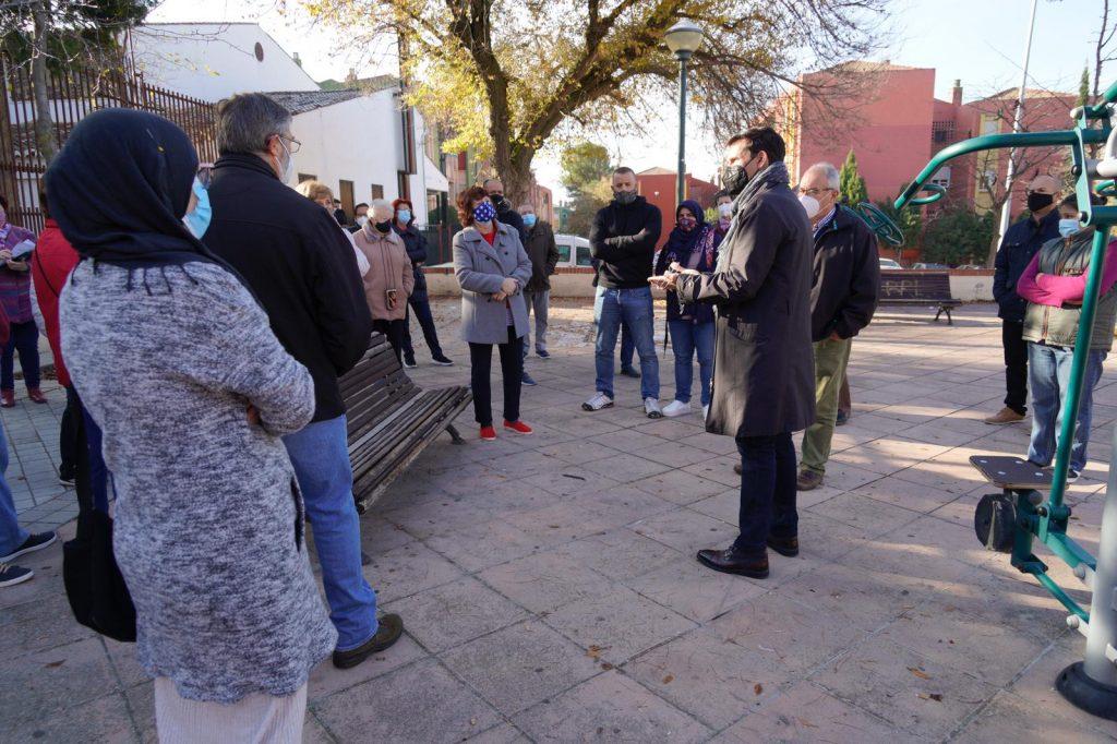EL PSOE EXIGE AL BIPARTITO QUE INCLUYA A CASERÍA DE MONTIJO EN EL PLAN CONTRA LOS CORTES DE LUZ Cuenca-hoy-en-casería-de-Montijo-1024x682