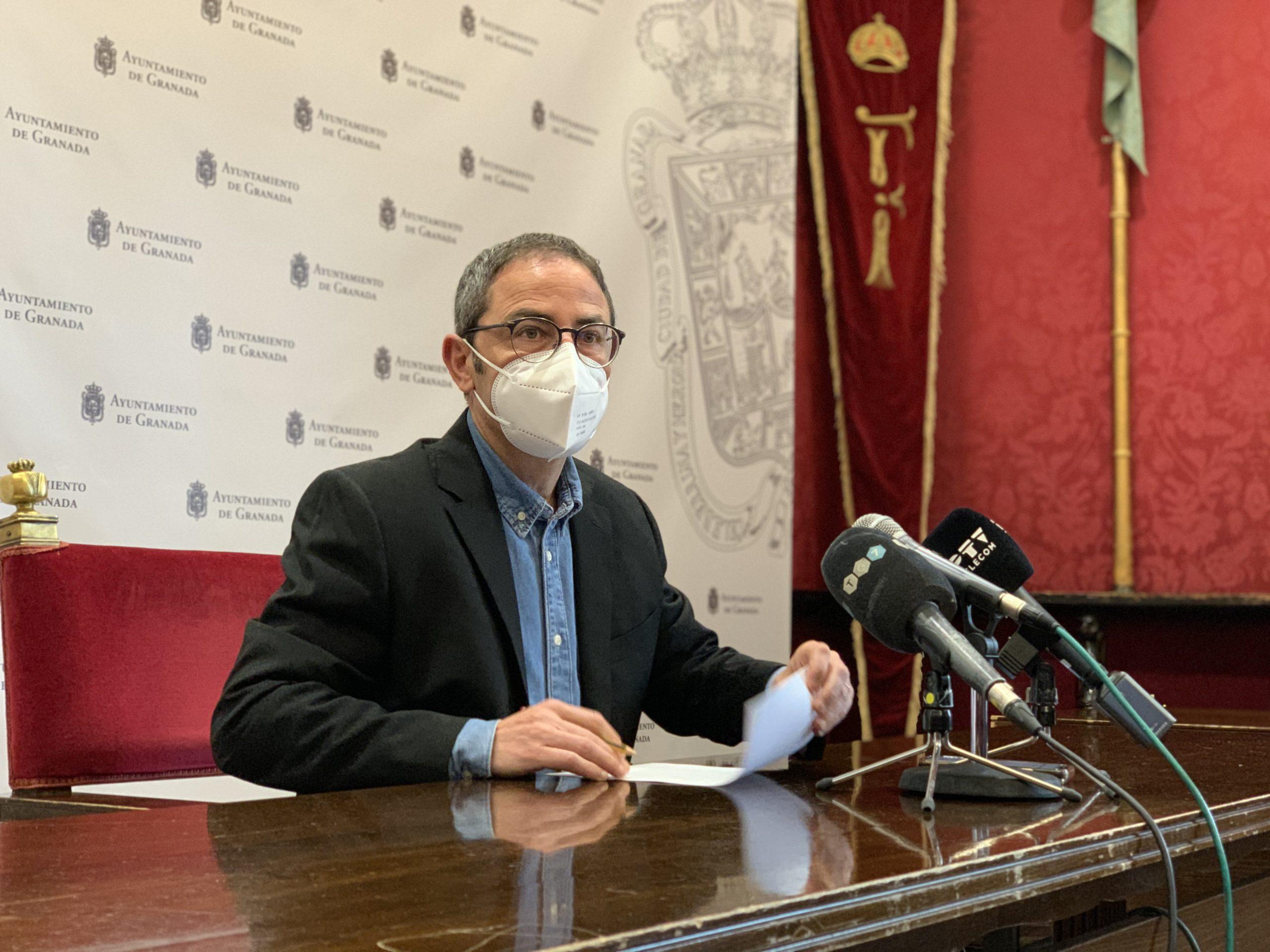 EL PSOE SEÑALA EL PELIGRO DE PERDER LOS FONDOS EDUSI TRAS LA ADVERTENCIA DEL GOBIERNO POR LA BAJA EJECUCIÓN Fernandez-Madrid-hoy-en-rueda-de-prensa-1-scaled